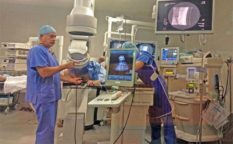 después de la cirugía de próstata, se debe realizar una video punción